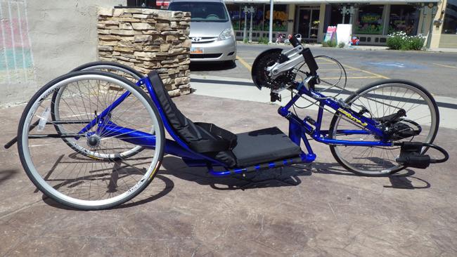 Utah Trikes - Top End Force-2 Handcycle