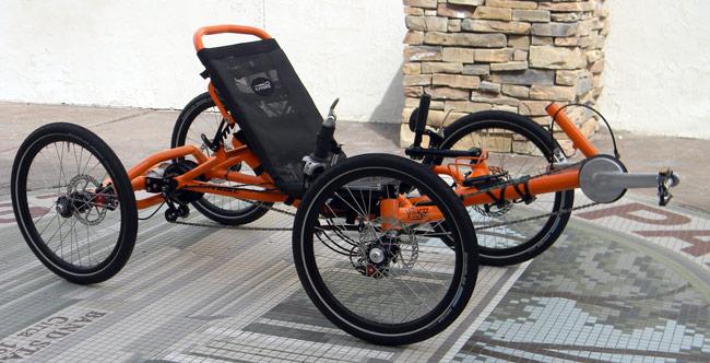 4 Wheel Recumbent Bike