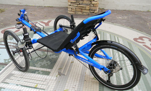 Utah Trikes Catrike Villager Electric Blue