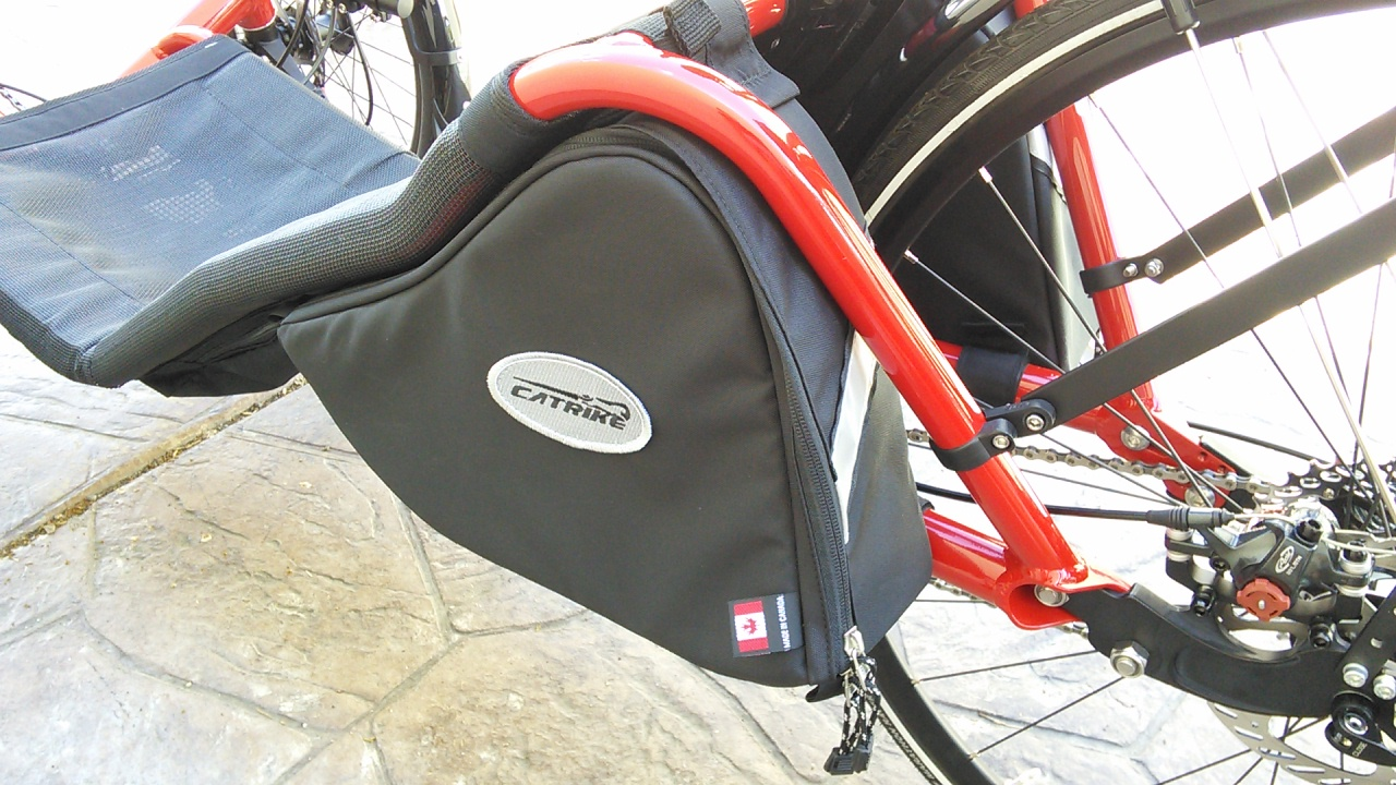 36bcde504b1a Catrike Arkel Bags - Expedition Road Speed - The Arkel bags are custom made  to fit in the area under the rear of the seat. Easy access allows you to  get ...