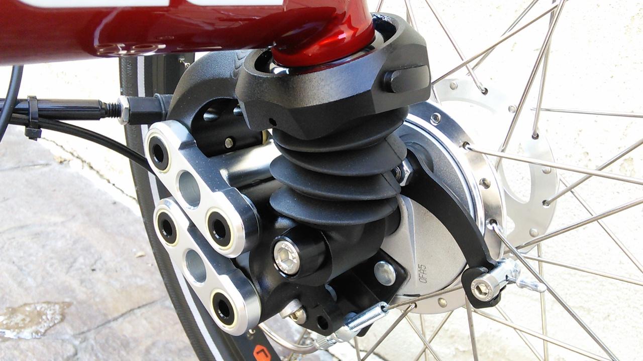 ICE Trike Front Suspension Elastomer set SOFT