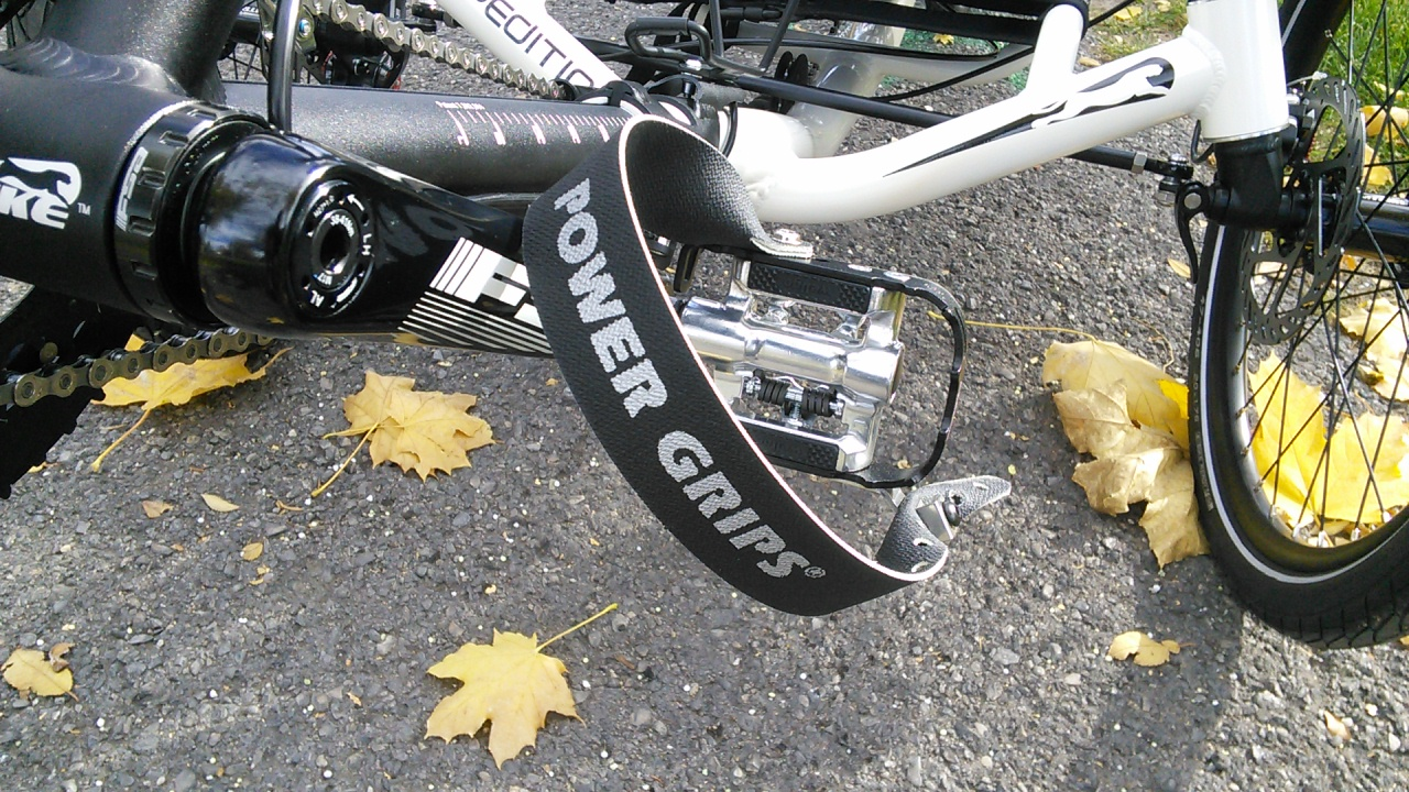 Black 375mm with Hardware Power Grips Extra Long