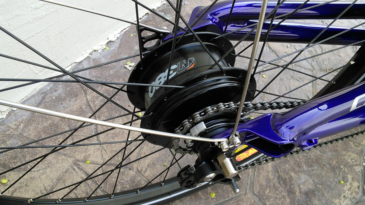 Utah Trikes - Trikes Featuring NuVinci N380 Wheel Kit - 26in