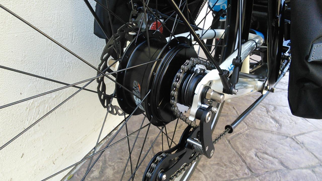 Utah Trikes - Trikes Featuring NuVinci N380 Wheel Kit - 26in