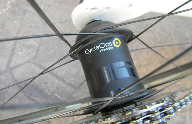 - The CycleOps PowerTap hub gives realtime wattage outputs. Perfect for training and racing.
