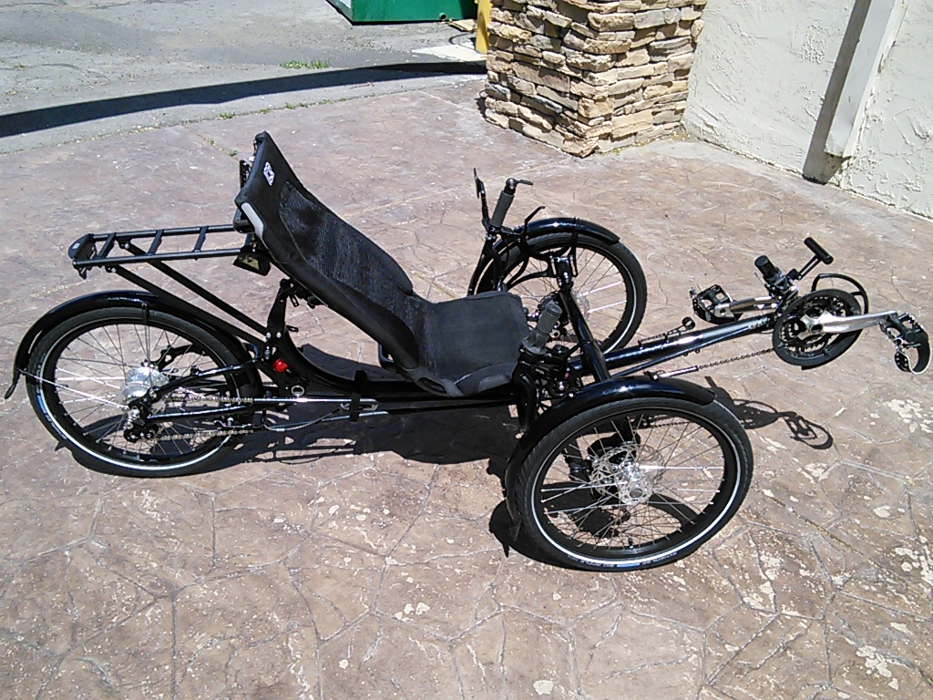 Utah Trikes Daniel S Black Ice Adventure Fs