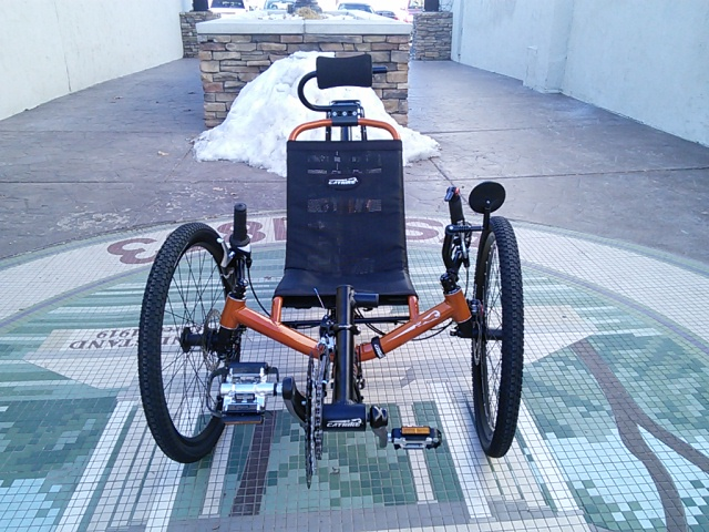 UTCustom Catrike Annihilator R-Series Full Suspension Recumbent Trike