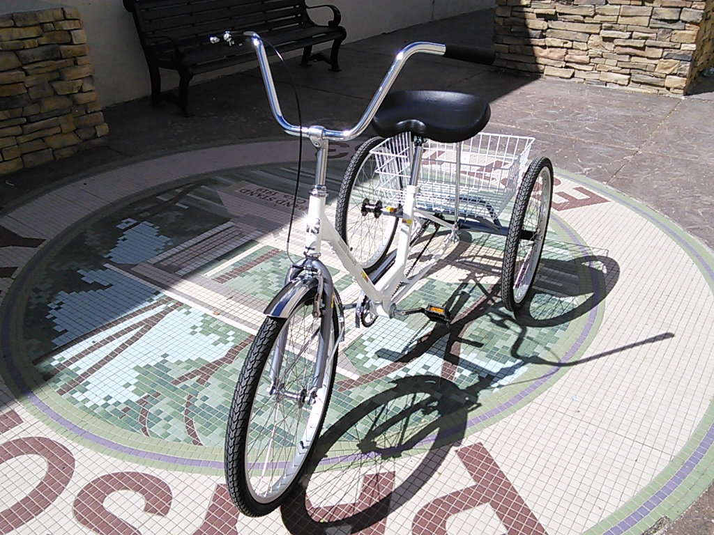 Sun Adult Trike 24-inch with Basket