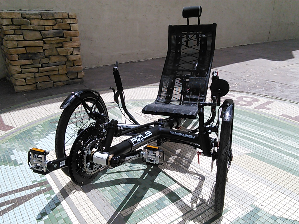 Azub TRICon 20 Suspension Folding Recumbent Trike
