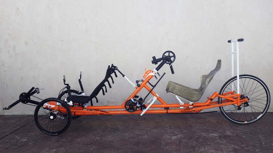 Utah Trikes Racing Hand Cycle Tandem