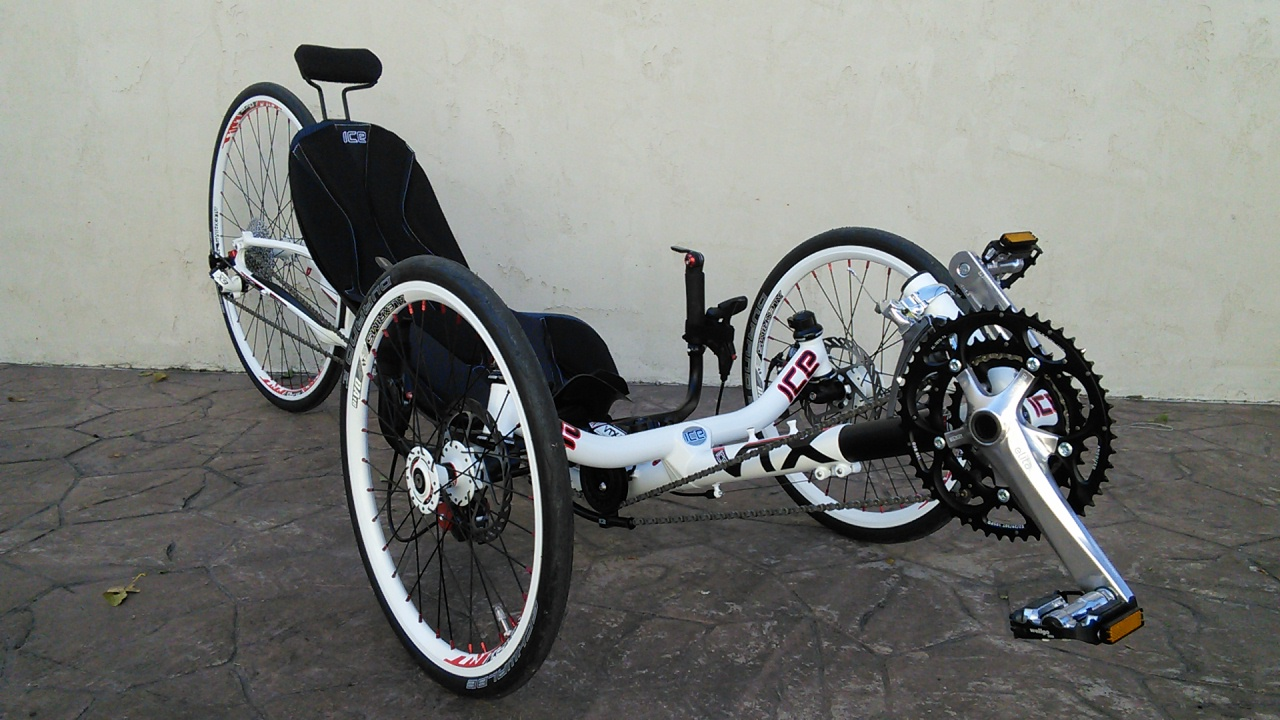 Utah Trikes Ice Vtx Racing Trike White