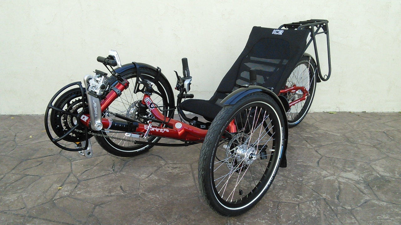 ICE Sprint X Recumbent Trike