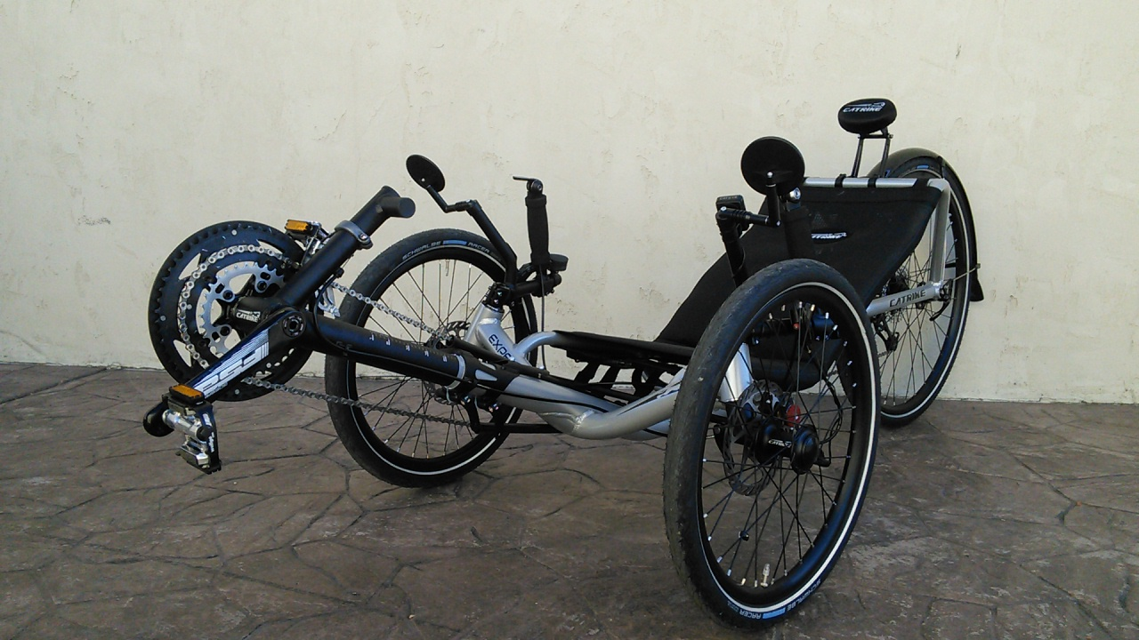 Silver Catrike Expedition Trike