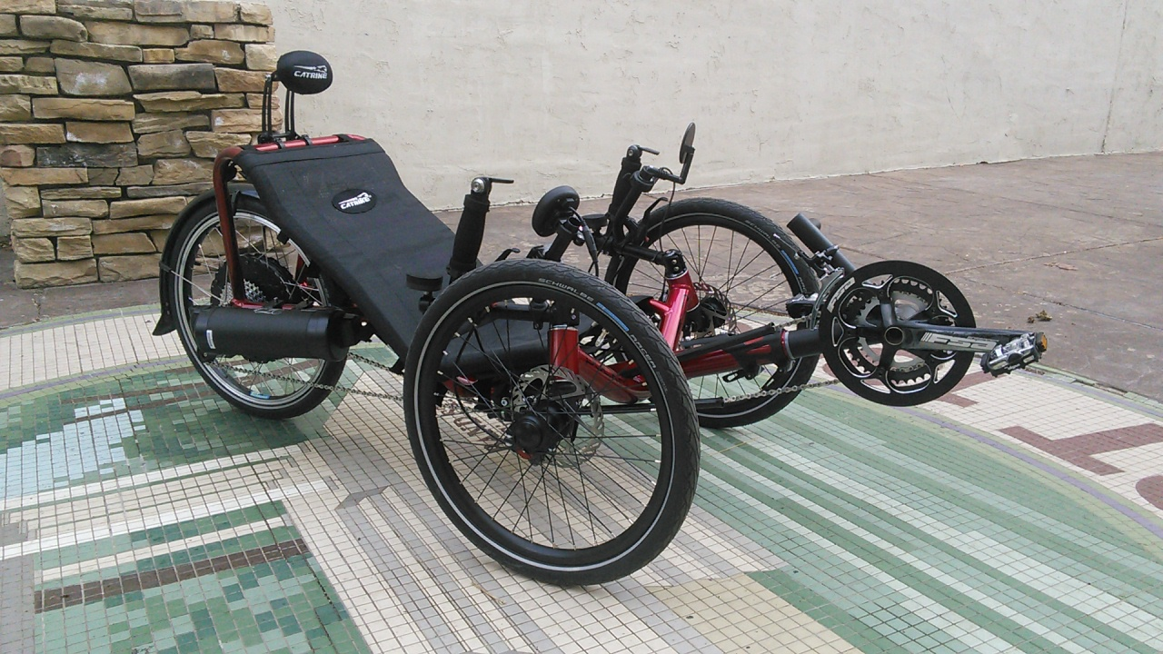Catrike Pocket Recumbent Trike
