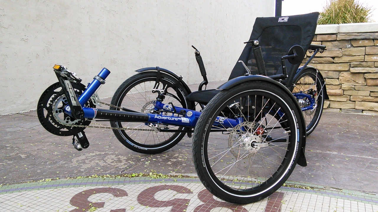 ... recent custom trike builds of the ICE Adventure RS Recumbent Trike