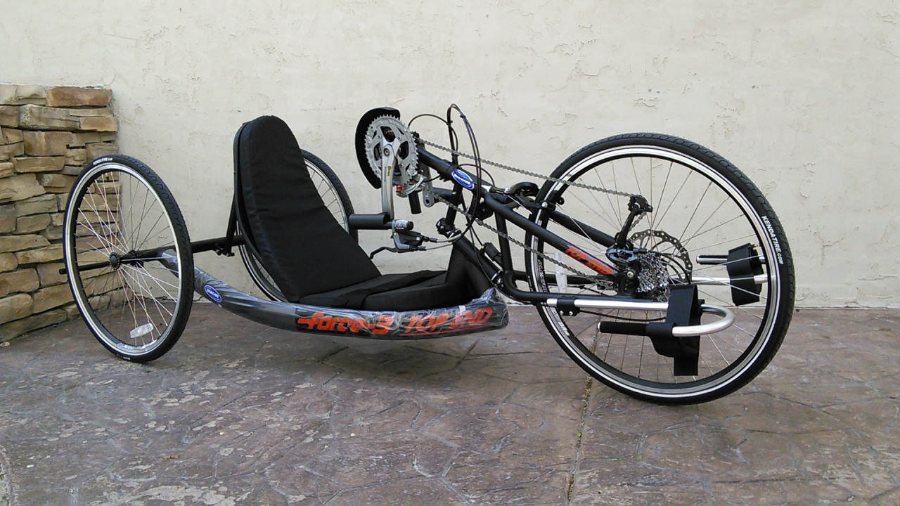Top End Force-3 Handcycle