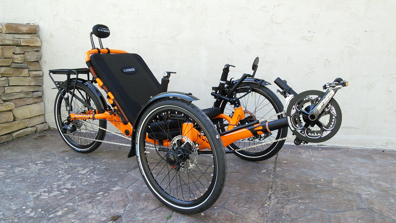 Catrike Road Suspension Trike