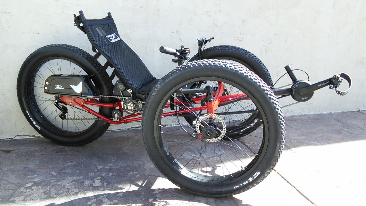 Utah Trikes Bengal Red Ut Custom Fat Tad Crawler