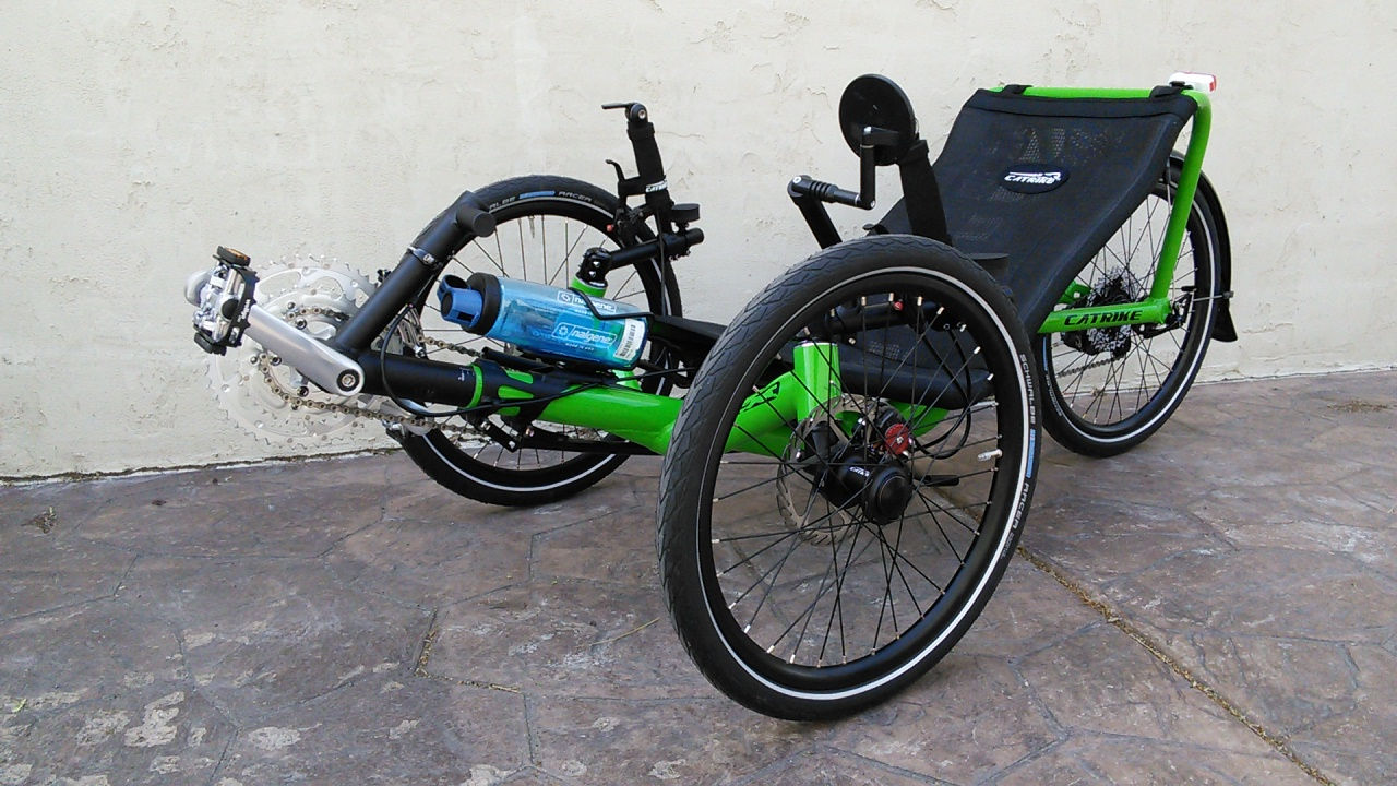 Utah Trikes Catrike Pocket Green 6018