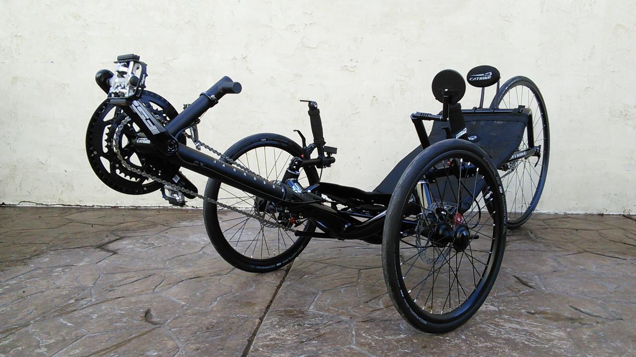 Utah Trikes Bengal Black Catrike 700 Racing Trike