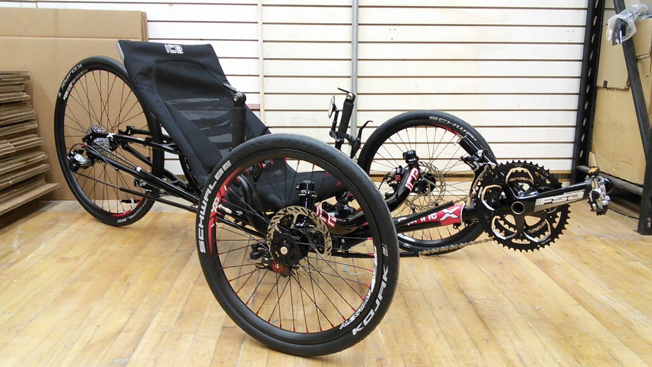 ICE Sprint 26X Recumbent Trike