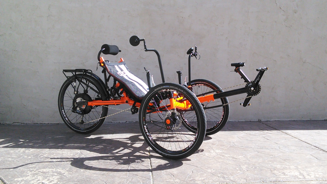 Revolution Defiance FS Full Suspension Recumbent Trike