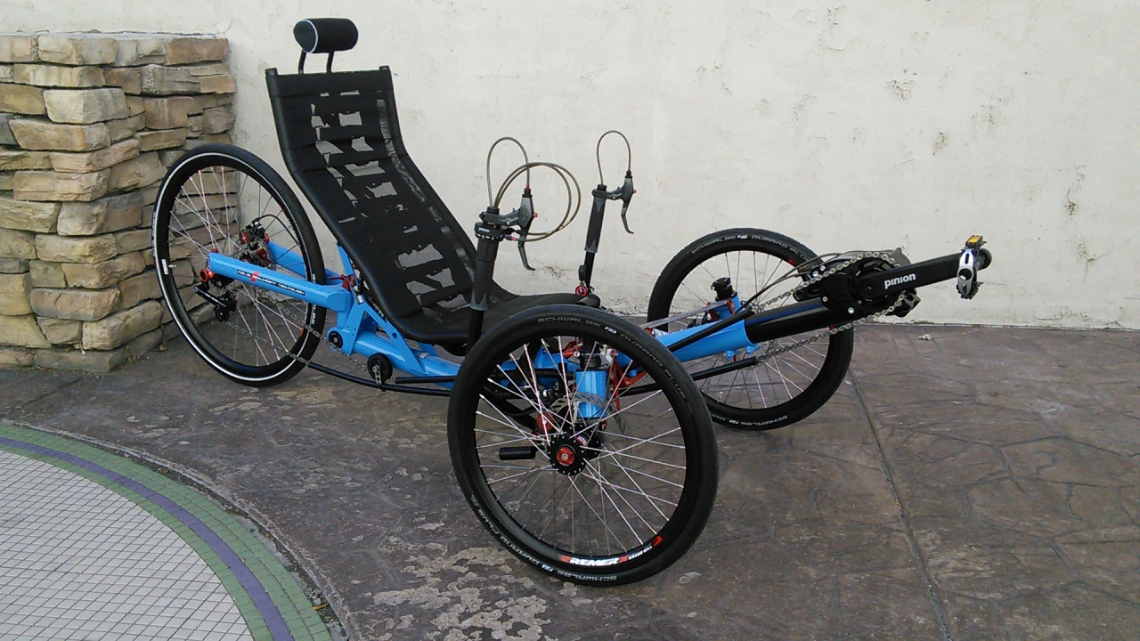 2020 Azub Ti-FLY 26 Full Suspension Recumbent Trike