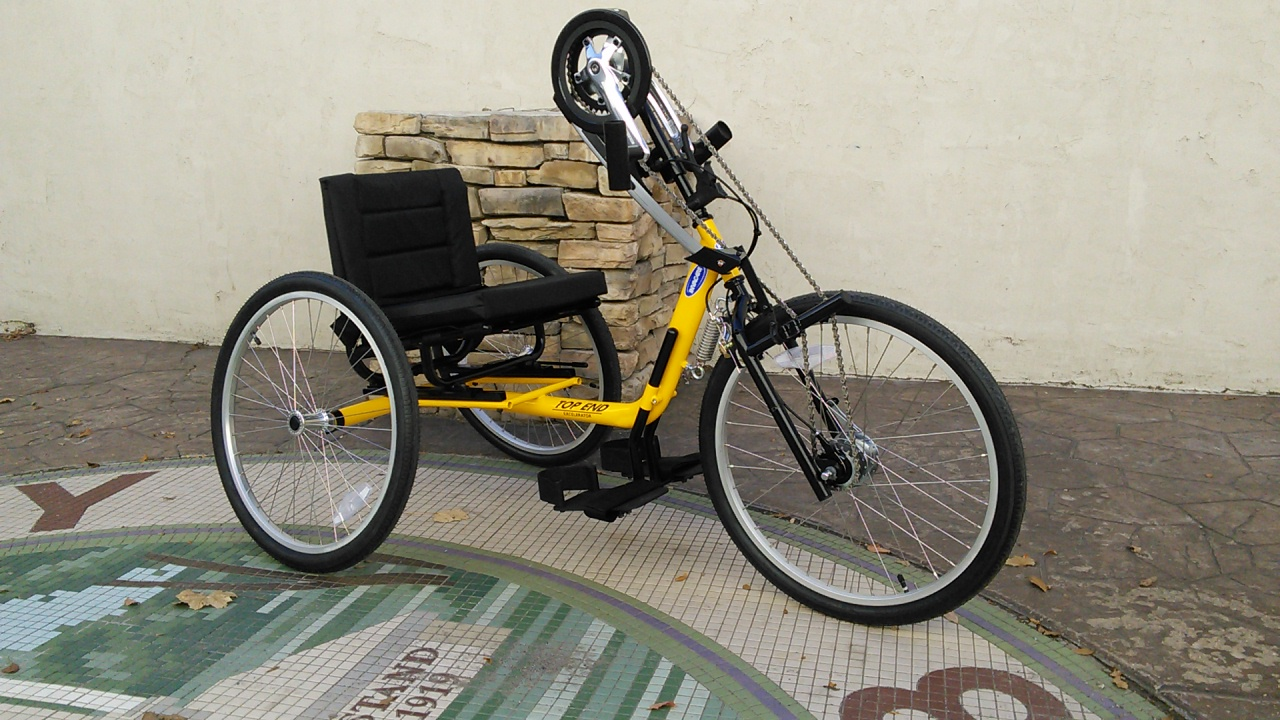 Top End Excelerator XLT Handcycle