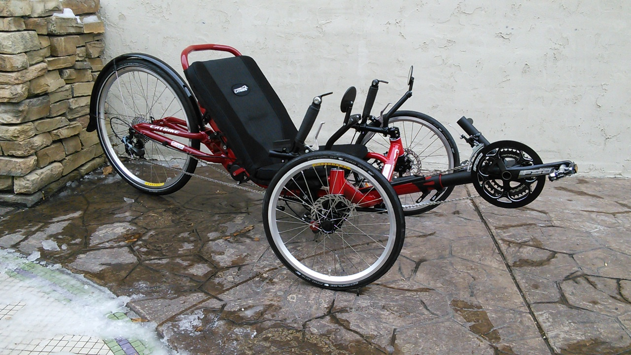 Catrike Dumont Full Suspension Folding Trike