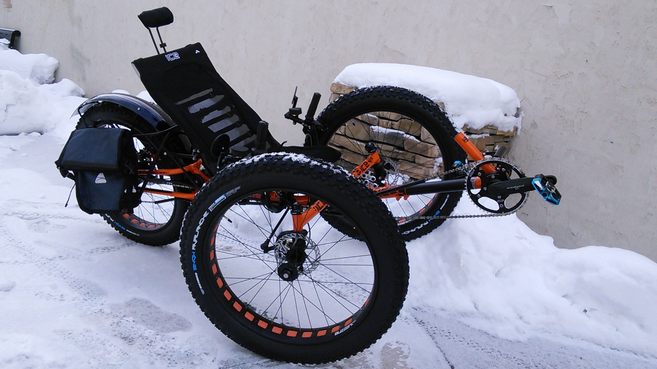 ICE Full Fat Folding Recumbent Trike
