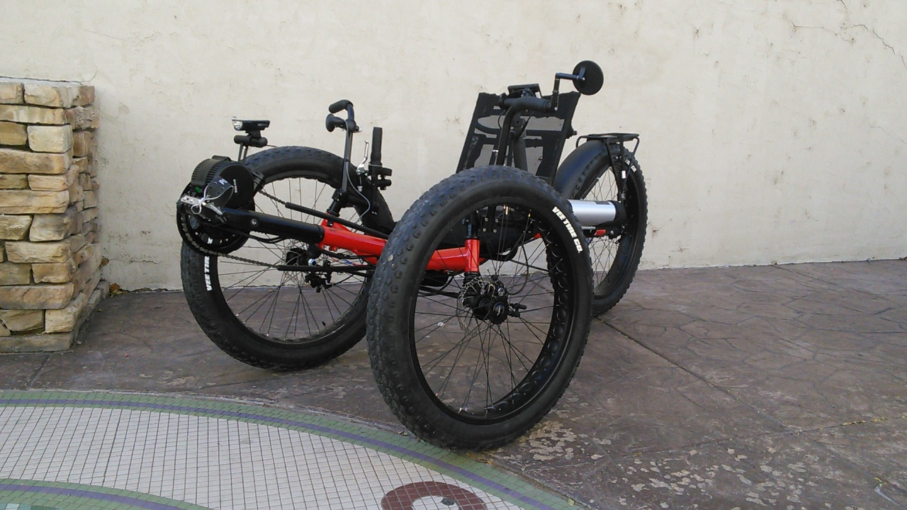 SunSeeker Fat Tad CXS Full Suspension Tadpole Recumbent Trike