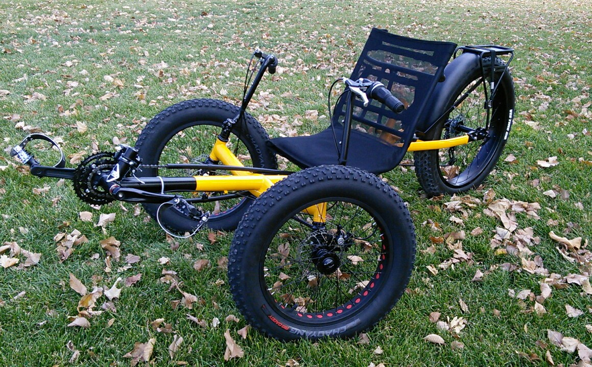 Utah Trikes Richard S Snow Quad