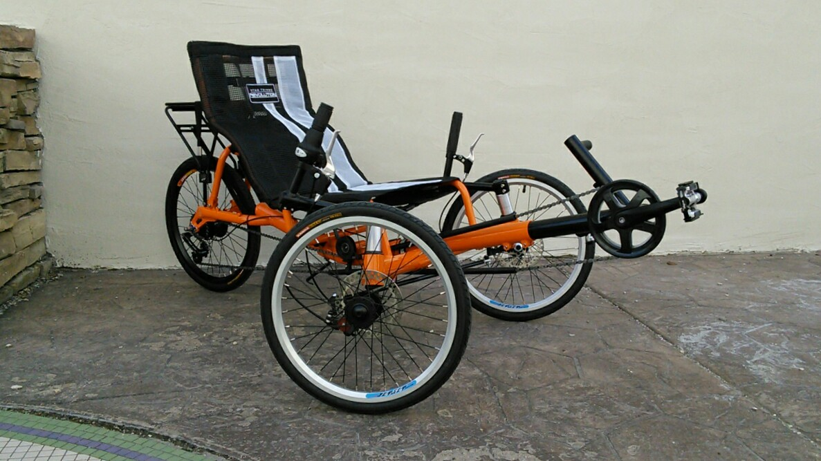 Revolution Getaway Folding Recumbent Trike by Utah Trikes
