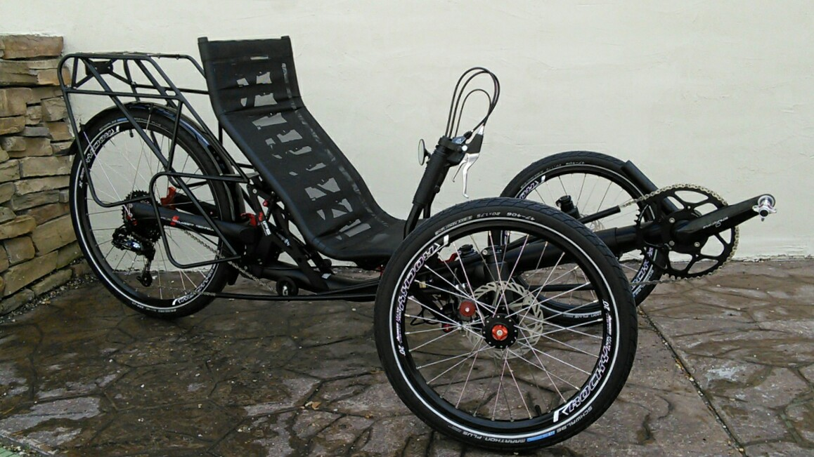 Azub TRIcon 26 Suspension Folding Recumbent Trike