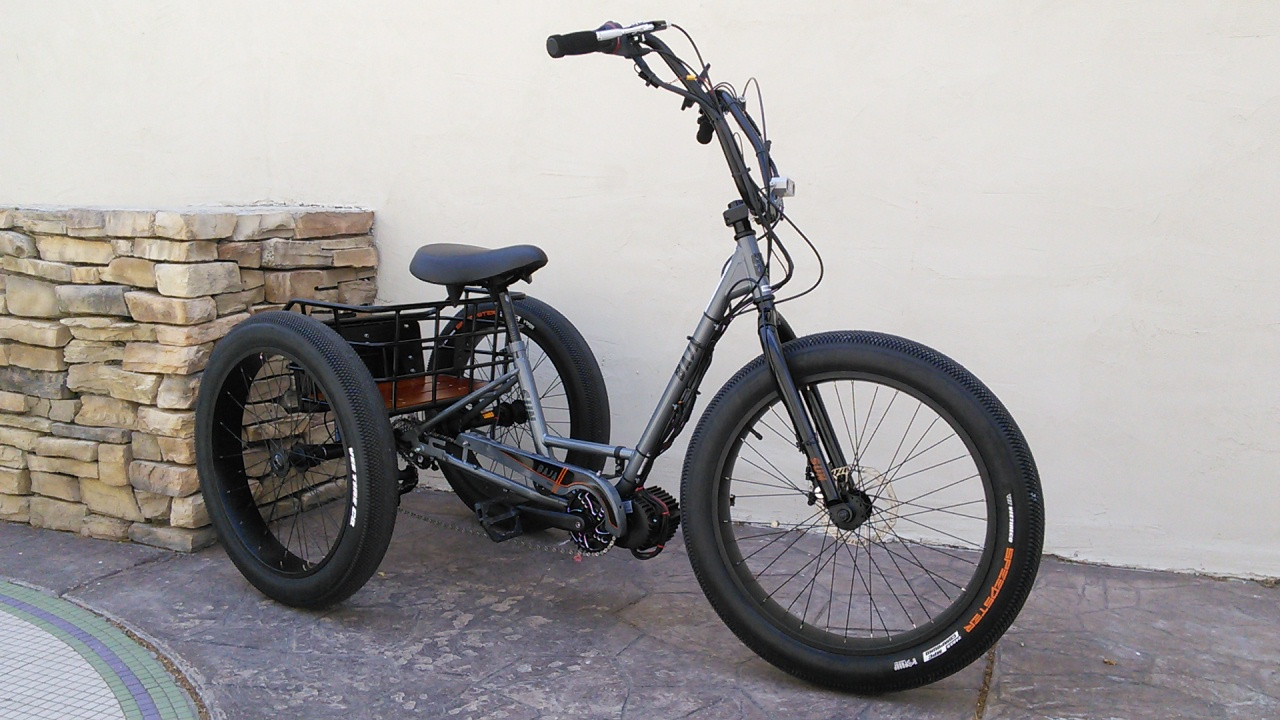 Sunseeker Baja Fat Trike Bike
