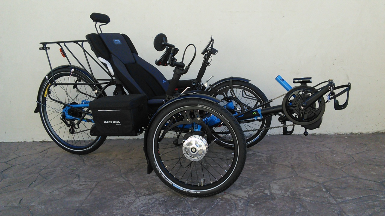 ICE Adventure Recumbent Trike