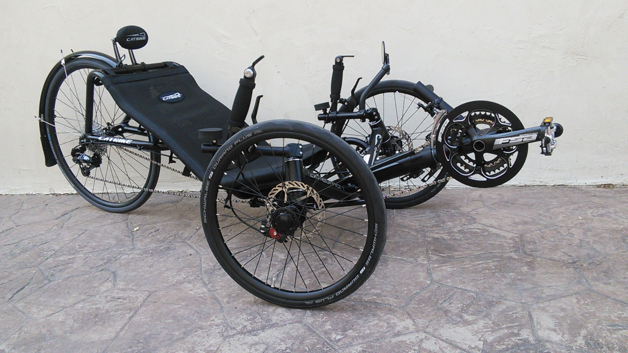 Catrike Expedition Recumbent Trike