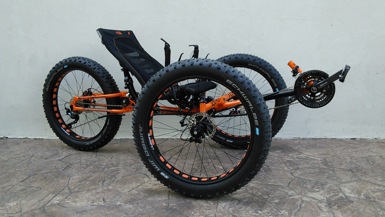 ICE Full Fat 26 Suspension Trike