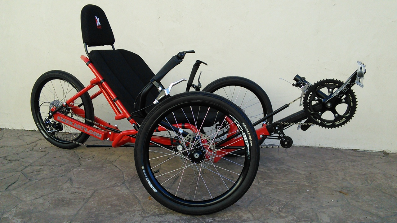 KMX Koyote Folding Aluminum Performance Recumbent Trike