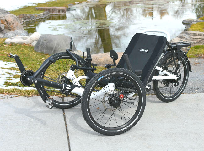Catrike Trail Folding Recumbent Trike
