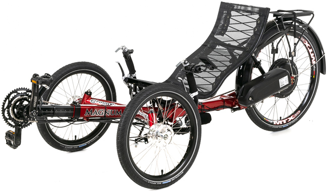 Lew's Greenspeed Magnum Big Wheel Electric Trike