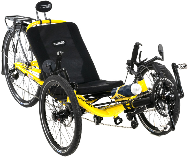Tom's Dumont - Full Suspension Folding Trike