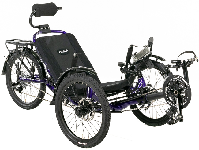 Catrike Road AR Full Suspension Recumbent Trike