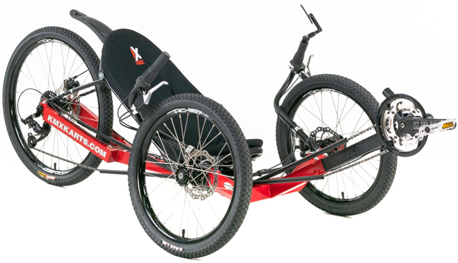 KMX Kobra 24-Speed Recumbent Trike