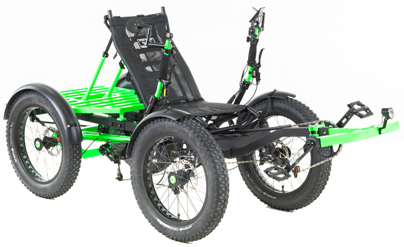 Revolution eQuad RS - Pedal-Electric Hybrid Recumbent Quad