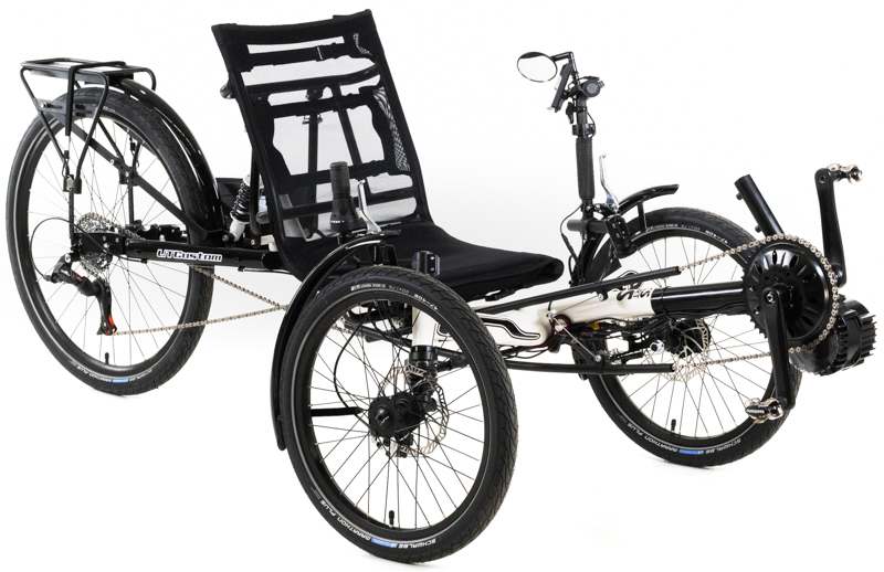 UTCustom CXS Sport FS Full Suspension Recumbent Trike