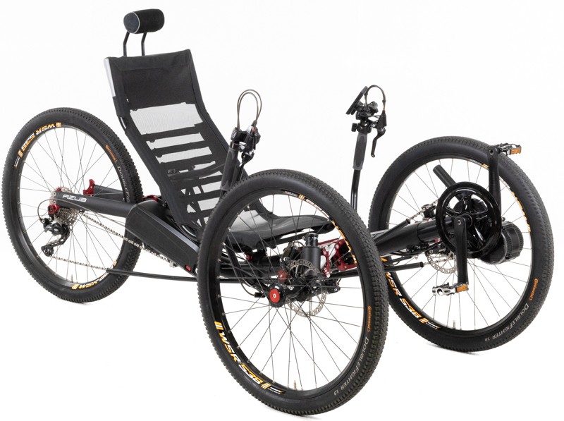 Azub Ti-FLY X Full Suspension Recumbent Trike