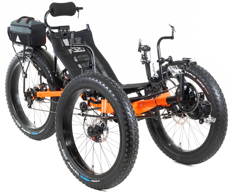 UTCustom Fat Tad Crawler RS - Fat Recumbent Trike