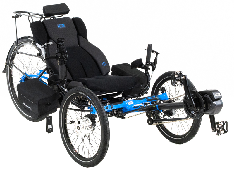 ICE Adventure HD Recumbent Trike