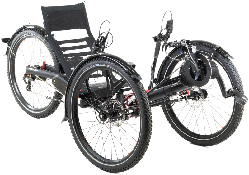 2020 Azub Ti-FLY X Full Suspension Recumbent Trike